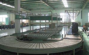 大型焊机板链组装线案例
